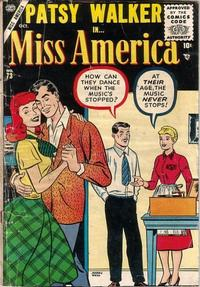 Cover Thumbnail for Miss America (Marvel, 1953 series) #73