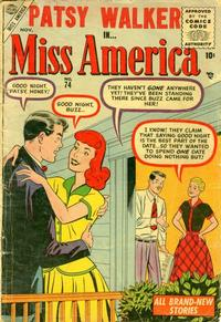Cover Thumbnail for Miss America (Marvel, 1953 series) #74
