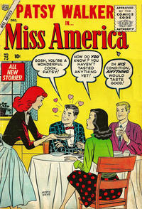 Cover Thumbnail for Miss America (Marvel, 1953 series) #75