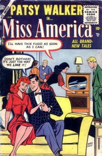 Cover Thumbnail for Miss America (Marvel, 1953 series) #76