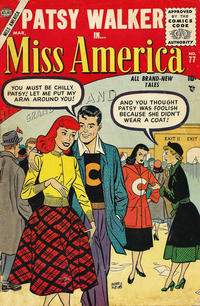 Cover Thumbnail for Miss America (Marvel, 1953 series) #77