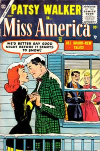 Cover Thumbnail for Miss America (Marvel, 1953 series) #78