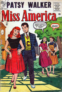 Cover Thumbnail for Miss America (Marvel, 1953 series) #81