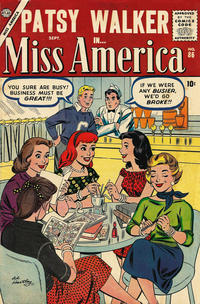 Cover Thumbnail for Miss America (Marvel, 1953 series) #86