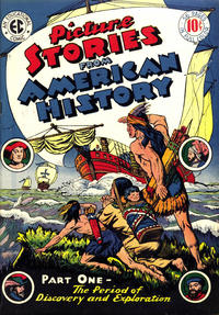 Cover Thumbnail for Picture Stories from American History (EC, 1945 series) #1