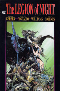 Cover Thumbnail for The Legion of Night (Marvel, 1991 series) #1