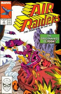 Cover Thumbnail for Air Raiders (Marvel, 1987 series) #3 [Direct Edition]