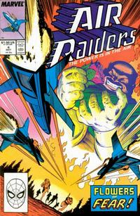 Cover Thumbnail for Air Raiders (Marvel, 1987 series) #4 [Direct]