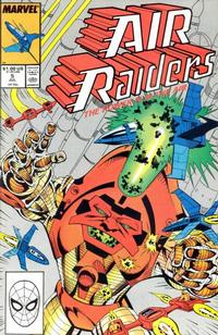 Cover Thumbnail for Air Raiders (Marvel, 1987 series) #5 [Direct Edition]
