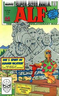 Cover Thumbnail for Alf Annual (Marvel, 1988 series) #1 [Direct]