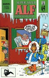 Cover Thumbnail for ALF Holiday Special (Marvel, 1988 series) #1 [Direct Edition]