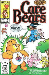 Cover Thumbnail for Care Bears (Marvel, 1985 series) #2 [Direct]