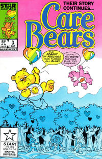 Cover Thumbnail for Care Bears (Marvel, 1985 series) #3 [Direct]