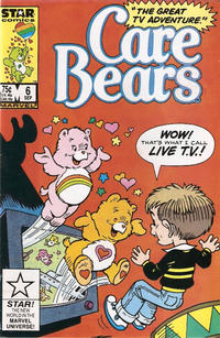 Cover Thumbnail for Care Bears (Marvel, 1985 series) #6 [Direct]