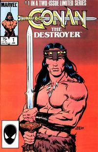 Cover Thumbnail for Conan the Destroyer (Marvel, 1985 series) #1
