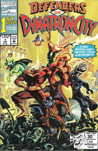 Cover Thumbnail for Defenders of Dynatron City (Marvel, 1992 series) #1