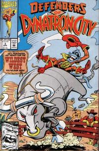Cover Thumbnail for Defenders of Dynatron City (Marvel, 1992 series) #3