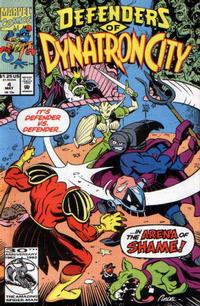 Cover Thumbnail for Defenders of Dynatron City (Marvel, 1992 series) #4