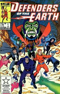 Cover Thumbnail for Defenders of the Earth (Marvel, 1987 series) #1