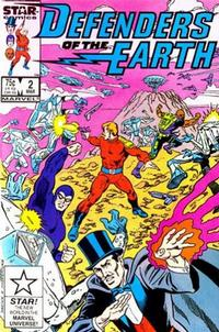 Cover Thumbnail for Defenders of the Earth (Marvel, 1987 series) #2