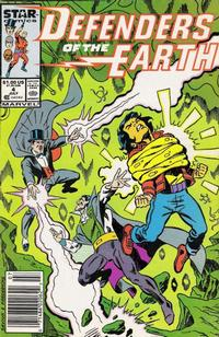 Cover Thumbnail for Defenders of the Earth (Marvel, 1987 series) #4