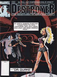 Cover Thumbnail for The Destroyer (Marvel, 1989 series) #9