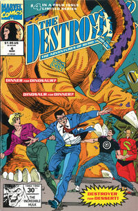 Cover Thumbnail for The Destroyer (Marvel, 1991 series) #4