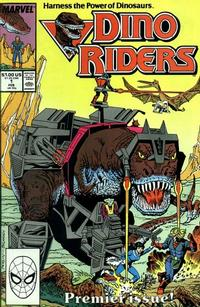 Cover Thumbnail for Dino Riders (Marvel, 1989 series) #1 [Direct]