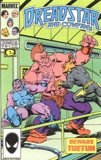 Cover Thumbnail for Dreadstar and Company (Marvel, 1985 series) #5