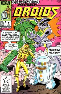 Cover Thumbnail for Droids (Marvel, 1986 series) #1 [Direct]