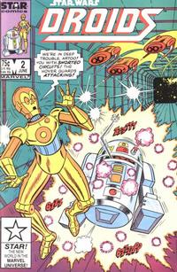 Cover Thumbnail for Droids (Marvel, 1986 series) #2 [Direct]