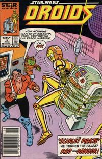 Cover Thumbnail for Droids (Marvel, 1986 series) #3 [Newsstand]