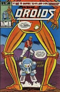 Cover Thumbnail for Droids (Marvel, 1986 series) #5 [Direct]