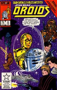 Cover Thumbnail for Droids (Marvel, 1986 series) #6 [Direct]
