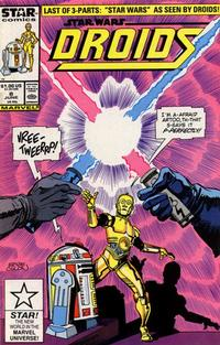 Cover Thumbnail for Droids (Marvel, 1986 series) #8 [Direct]