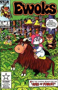 Cover Thumbnail for The Ewoks (Marvel, 1985 series) #2 [Direct]