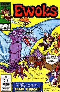 Cover Thumbnail for The Ewoks (Marvel, 1985 series) #3 [Direct]