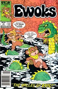 Cover Thumbnail for The Ewoks (Marvel, 1985 series) #4 [Newsstand]