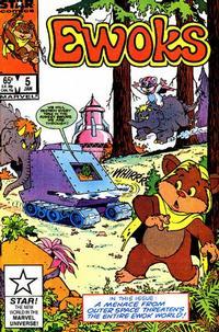 Cover Thumbnail for The Ewoks (Marvel, 1985 series) #5 [Direct]