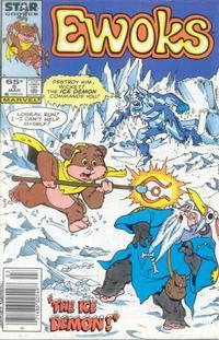 Cover Thumbnail for The Ewoks (Marvel, 1985 series) #6 [Newsstand]