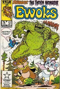 Cover Thumbnail for The Ewoks (Marvel, 1985 series) #12 [Direct]
