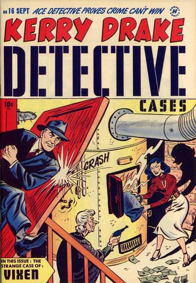 Cover for Kerry Drake Detective Cases (Harvey, 1948 series) #16