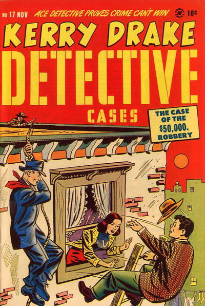 Cover for Kerry Drake Detective Cases (Harvey, 1948 series) #17