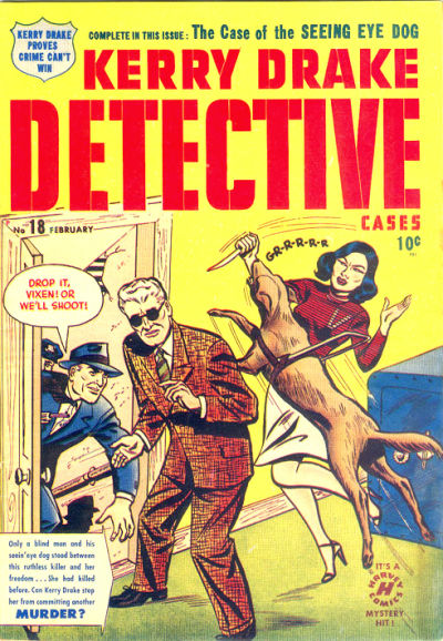 Cover for Kerry Drake Detective Cases (Harvey, 1948 series) #18