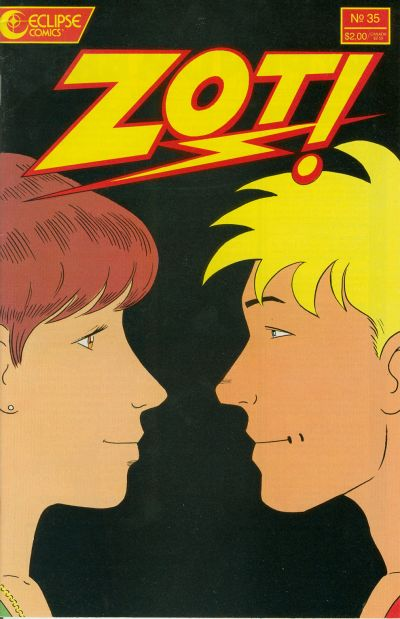 Cover for Zot! (Eclipse, 1984 series) #35