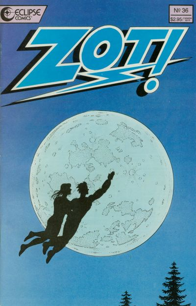 Cover for Zot! (Eclipse, 1984 series) #36