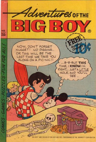 Cover for Adventures of the Big Boy (Webs Adventure Corporation, 1957 series) #155 [West]