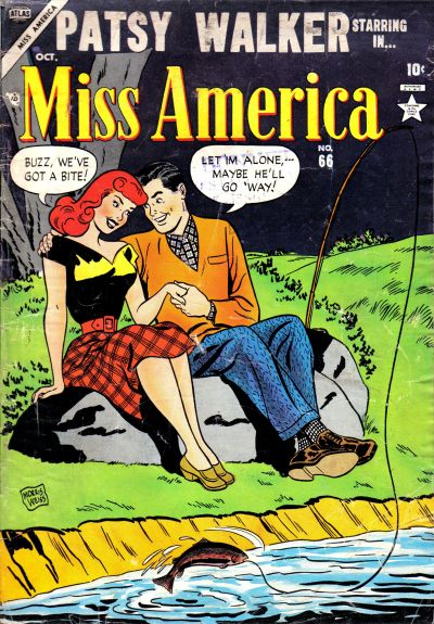 Cover for Miss America (Marvel, 1953 series) #66