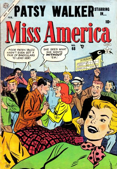 Cover for Miss America (Marvel, 1953 series) #68