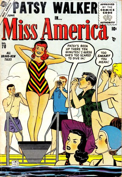 Cover for Miss America (Marvel, 1953 series) #70